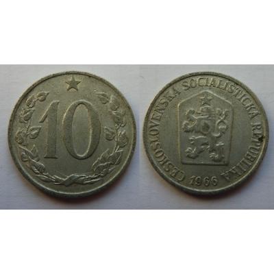 10 haléřů 1966