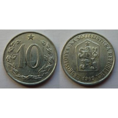 10 haléřů 1969