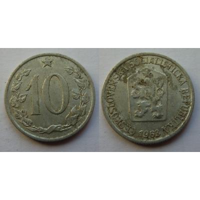 10 haléřů 1963