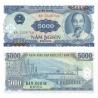 Vietnam - bankovka 5000 dong 1991 UNC
