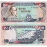Jamajka - bankovka 50 dolarů 2007 aUNC