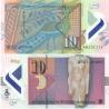 Makedonie - bankovka 10 denárů 2008 UNC, polymerová bankovka