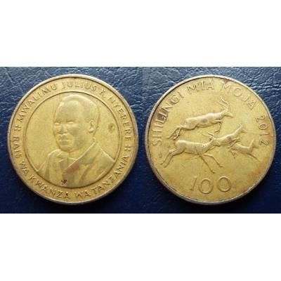 Tanzánie - 100 Schillingi 2012