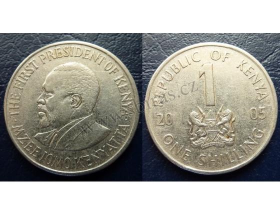 Keňa - 1 shilling 2005
