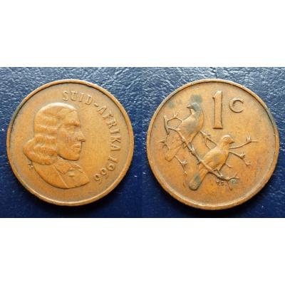 Jihoafrická republika - 1 cent 1966