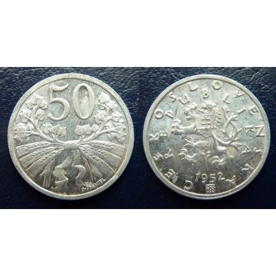 50 haléřů 1952