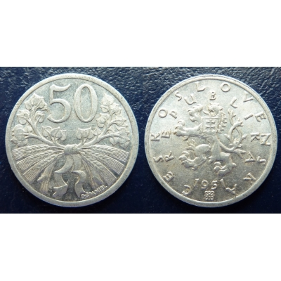 50 haléřů 1951