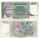 Jugoslávie - bankovka 50 000 dinara 1992