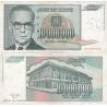 Jugoslávie - bankovka 10 000 000 dinara 1993