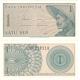 Indonésie - bankovka 1 sen 1964 UNC