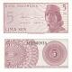 Indonésie - bankovka 5 sen 1964 UNC
