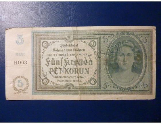 1 Koruna 1940