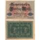 Německo - bankovka Darlehenskassenschein 50 marek 1914