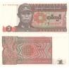 Barma - bankovka 1 kyat 1990 UNC