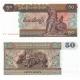 Barma - bankovka 50 kyats 1997 UNC