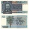 Barma - bankovka 5 kyats 1973 UNC