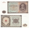 Slovenský štát - bankovka 5000 korun 1944, nevydaná