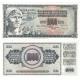 Jugoslávie - bankovka 1000 dinara 1981 aUNC