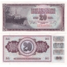 Jugoslávie - bankovka 20 dinara 1974 aUNC