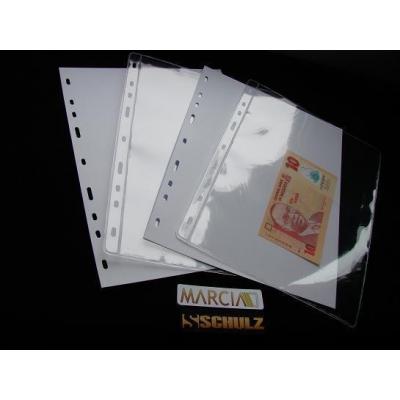 Náhradní list do alba na bankovky - 1 pole, 10 kusů v balení