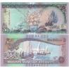 Maledivy - bankovka 5 rufiyaa 2011 UNC