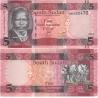 Jižní Súdán - bankovka 5 pound 2015 UNC