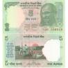 Indie - bankovka 5 rupees 2010 UNC