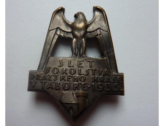 Slet sokolstva pražského kraje v Táboře 1935