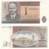 Estonsko - bankovka 1 Kroon 1992 UNC