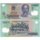 Vietnam - bankovka 500 000 dong bl, polymerová bankovka