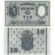 Švédsko - bankovka 10 kronor 1957