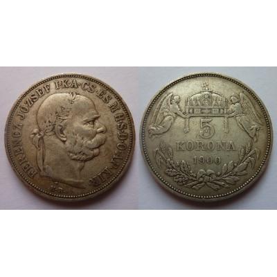 5 Kronen 1900 k.b.