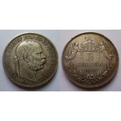 5 Crown 1907 k.b.