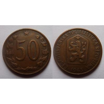 50 haléřů 1963