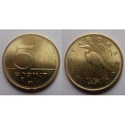 Maďarsko - 5 forint 2018