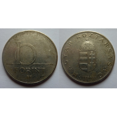 Maďarsko - 10 forint 1994