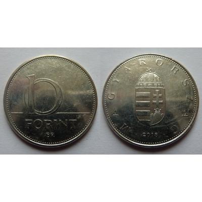 Maďarsko - 10 forint 2018