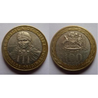 Chile - 100 pesos 2013