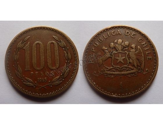 Chile - 100 pesos 1995