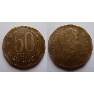 Chile - 50 pesos 1996
