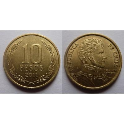 Chile - 10 pesos 2011