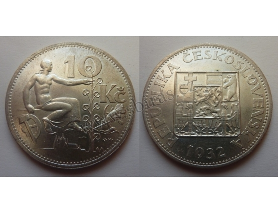 10 korun 1932