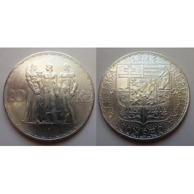 20 korun 1934