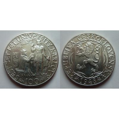 100 Kronen 1948