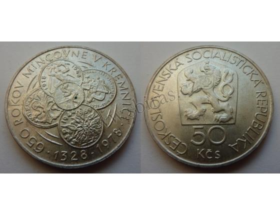 50 Korun - 650 let mincovny Kremnica