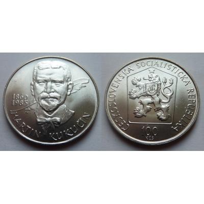 100 Korun 1985 - 125. výročí narození Martina Kukučína
