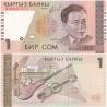 Kyrgyzstán - bankovka 1 Som 1999 UNC