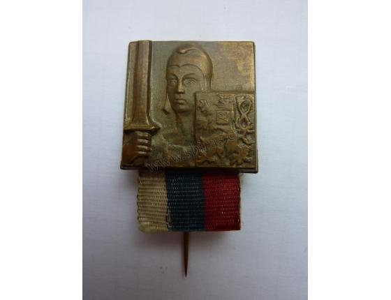 Republika, alegorie - originální odznak z 1, republiky