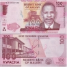 Malawi - bankovka 100 Kwacha 2016 UNC