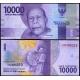 Indonésie - bankovka 10 000 rupiah 2016 UNC